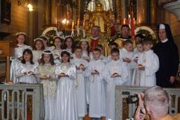 І Святе Причастя в Парафії св. Антонія