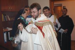 Коляда в монастирі у Борисполі