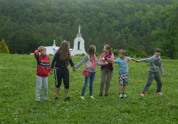 Виїзд дітей на канікули з Богом до Язлівця з 2 до 7 червня 2014 р.
