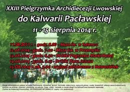 Піше Паломництво до Кальварії Пацлавської