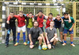 Футбольна команда зі Львова випробовує свою підготовку