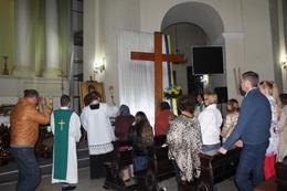 Хрест Світових Днів Молоді у Києві