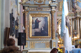 Реставраційні роботи в костелі св. Антонія
