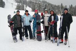 Реколекції на лижах не тільки для чоловіків...