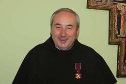 Відзнака для о. Владислава Лізуна