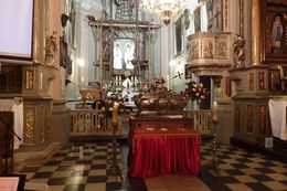 Процесія на честь покровителя Львівської Ахідієцезії