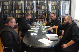 Зустріч вищих францисканських настоятелів у Тернополі.