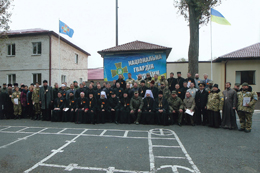 Організація духовної опіки в умовах збройного конфлікту