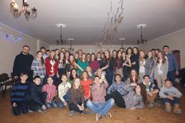 Новорічна зустріч молоді в Більшівцях