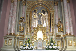 У костелі св. Антонія відреставровано головний вівтар