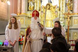 До парафії святого Антонія завітав святий Миколай
