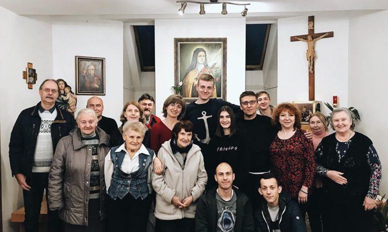День зосередження в Брюховича з Францисканською молоддю