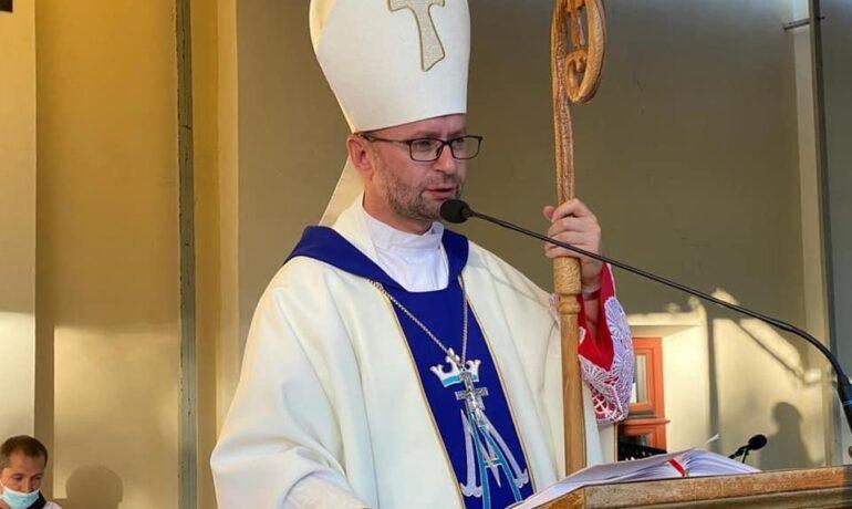 Заохота єпископа Едуарда Кави у Кальварії Пацлавській
