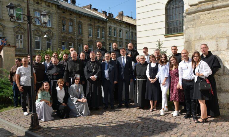 Урочисте проголошення Кустодії Святого Хреста в Україні