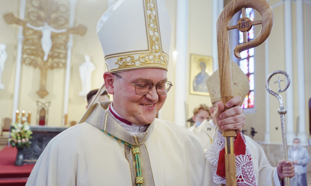 Єпископські свячення о. Ніколая Дубініна OFMConv