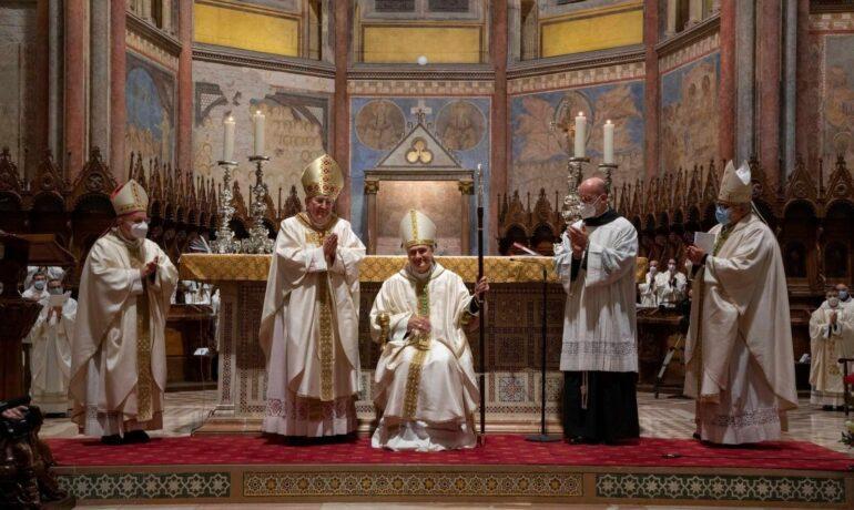 Єпископські свячення ассізького кустоша о. Мауро Гамбетті OFMConv