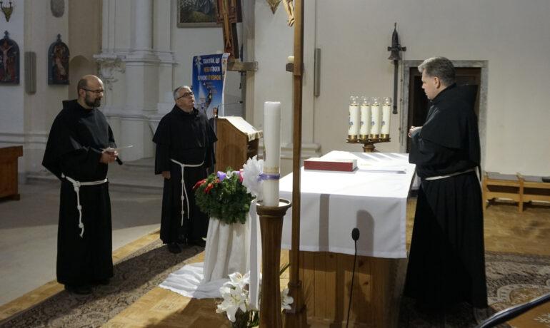 Передання відповідальності в монастирі бл. Якова Стрепи у Більшівцях