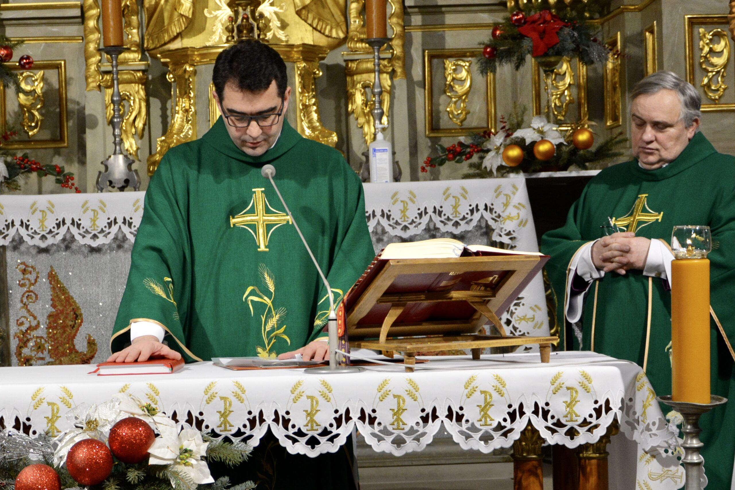 Введення в у служіння нового настоятеля парафії св. Антонія у Львові