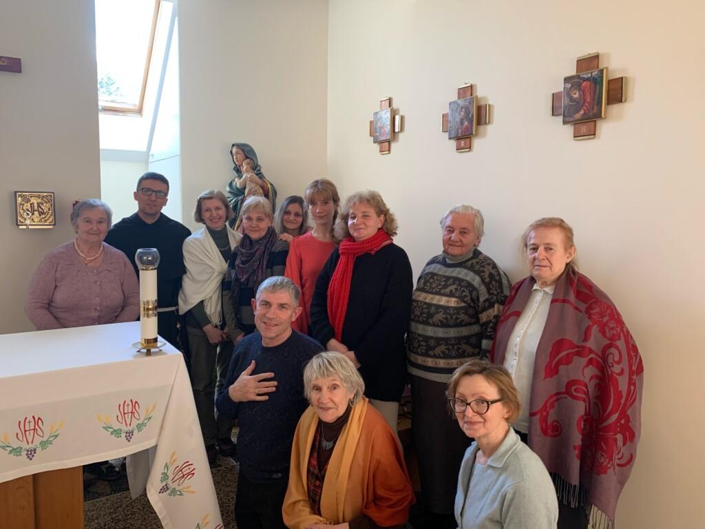 День задуми і наближення до Бога – день зосередження Львівської спільноти ФОС у Брюховичах