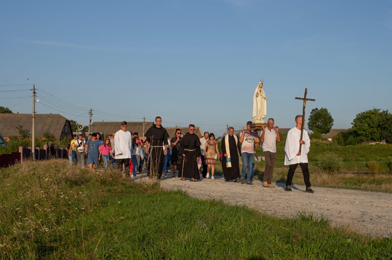 Фатімське богослужіння в Мацьківцях