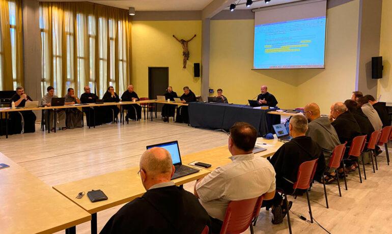 Зустріч генеральної курії з новообраними міністрами, кустошами, секретарями провінції та кустодії