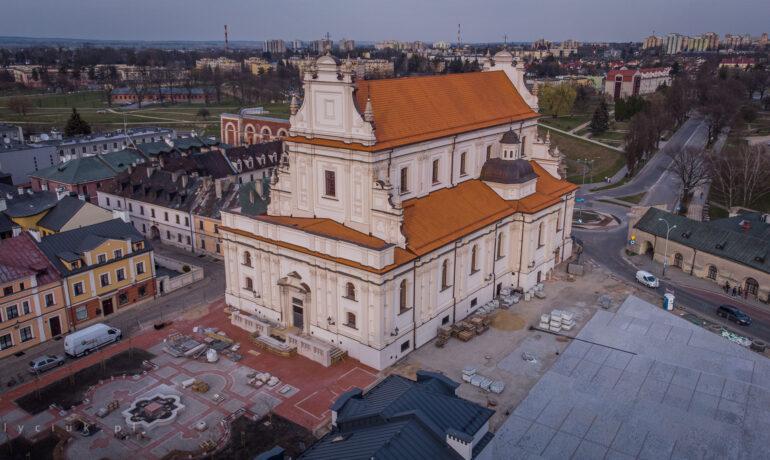 Освячення францисканського костелу в Замості